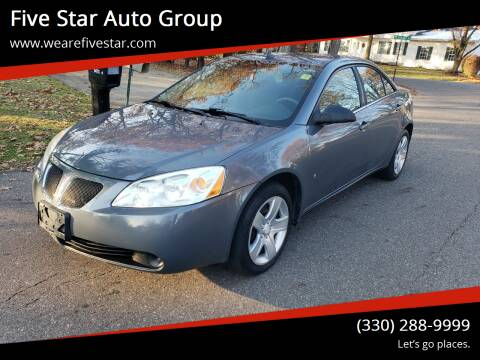 2009 Pontiac G6 for sale at Five Star Auto Group in North Canton OH