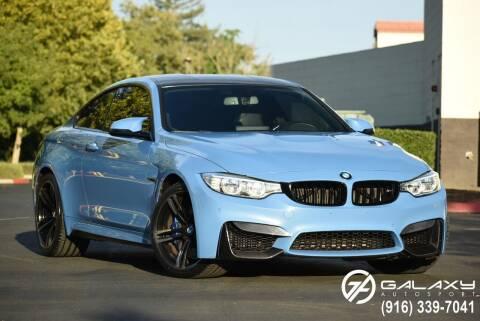 2016 BMW M4 for sale at Galaxy Autosport in Sacramento CA