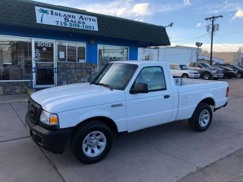 2007 Ford Ranger for sale at Island Auto Sales in Colorado Springs CO