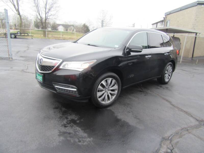 2014 Acura MDX for sale at Riverside Motor Company in Fenton MO