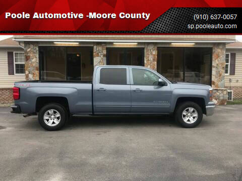 2015 Chevrolet Silverado 1500 for sale at Poole Automotive -Moore County in Aberdeen NC
