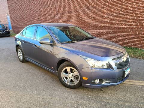 2013 Chevrolet Cruze for sale at Minnesota Auto Sales in Golden Valley MN