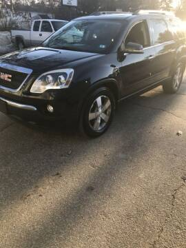 2011 GMC Acadia for sale at Stellar Motor Group in Hudson NH