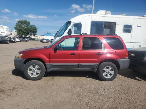 2006 Ford Escape for sale at PYRAMID MOTORS - Fountain Lot in Fountain CO