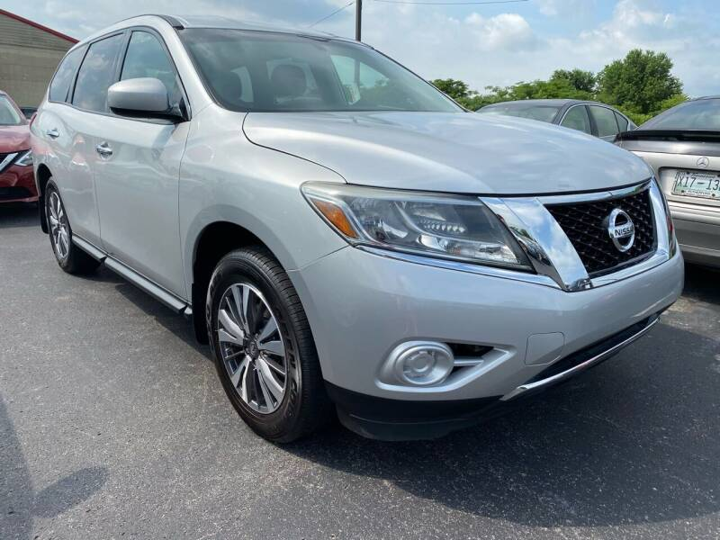2014 Nissan Pathfinder for sale at Tennessee Auto Brokers LLC in Murfreesboro TN