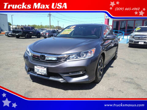 2017 Honda Accord for sale at Trucks Max USA in Manteca CA