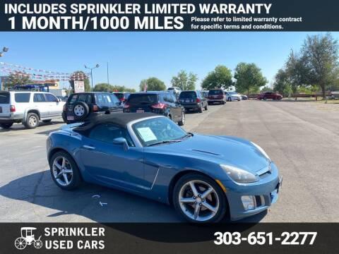 2007 Saturn SKY for sale at Sprinkler Used Cars in Longmont CO