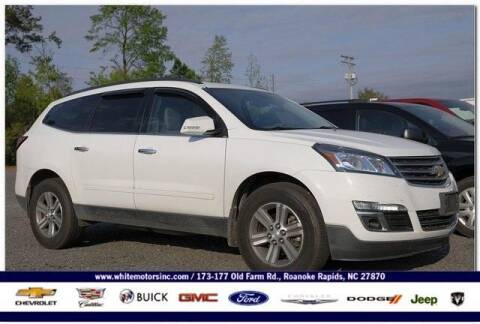 2017 Chevrolet Traverse for sale at WHITE MOTORS INC in Roanoke Rapids NC