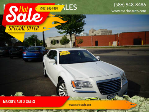 2014 Chrysler 300 for sale at MARIO'S AUTO SALES in Mount Clemens MI