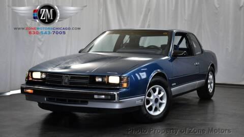 1988 Oldsmobile Toronado for sale at ZONE MOTORS in Addison IL