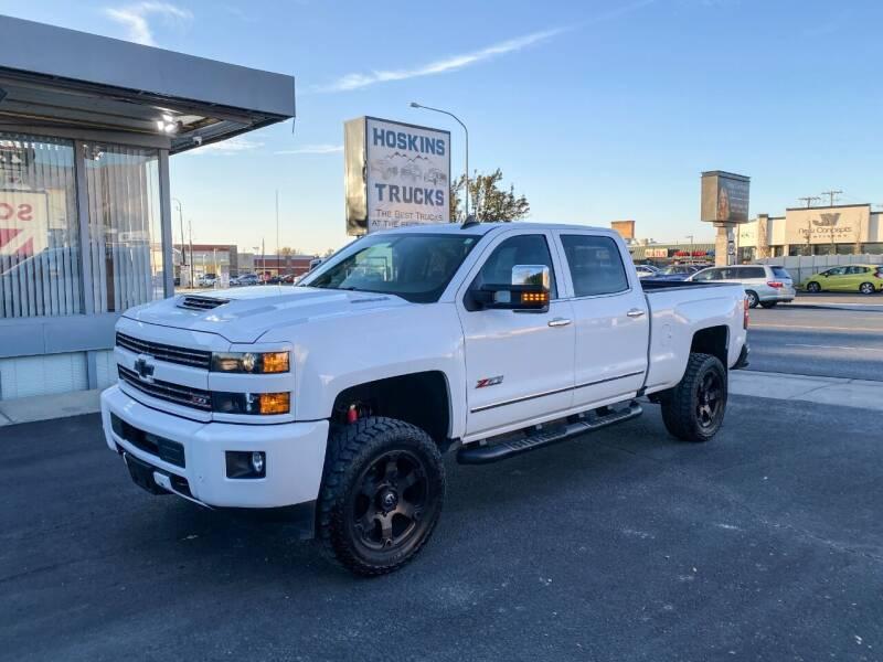 2018 Chevrolet Silverado 2500HD for sale at Hoskins Trucks in Bountiful UT