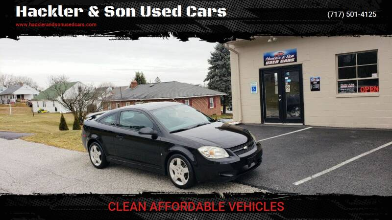2009 Chevrolet Cobalt for sale at Hackler & Son Used Cars in Red Lion PA