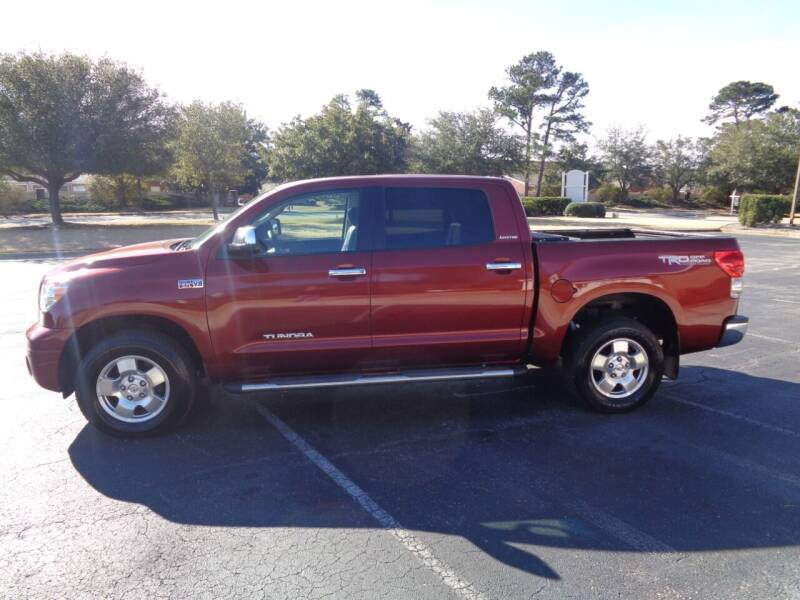 2008 Toyota Tundra for sale at BALKCUM AUTO INC in Wilmington NC