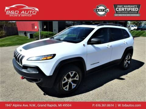 2015 Jeep Cherokee for sale at B&D Auto Sales Inc in Grand Rapids MI