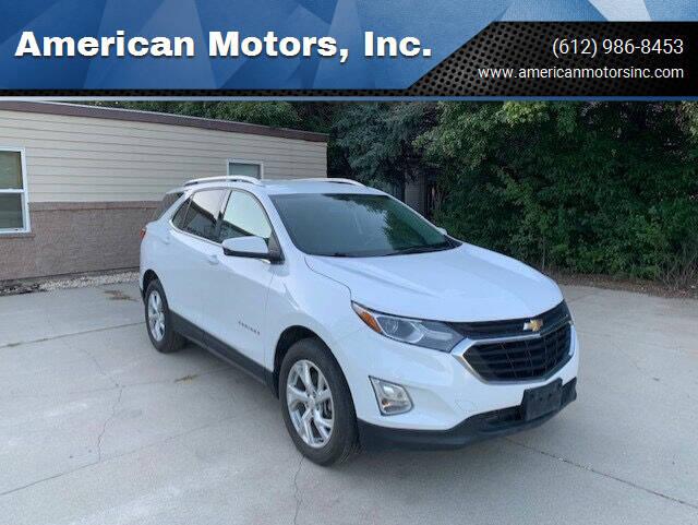 2018 Chevrolet Equinox for sale at American Motors, Inc. in Farmington MN