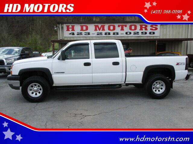 2006 Chevrolet Silverado 2500HD for sale at HD MOTORS in Kingsport TN