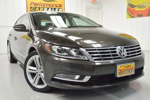 2013 Volkswagen CC for sale at Performance car sales in Joliet IL