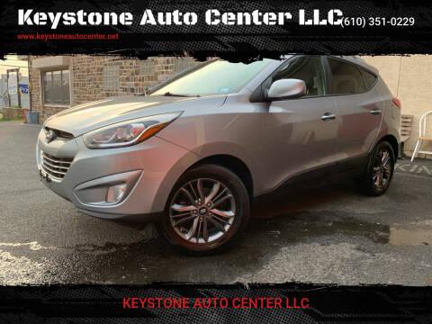 2014 Hyundai Tucson for sale at Keystone Auto Center LLC in Allentown PA
