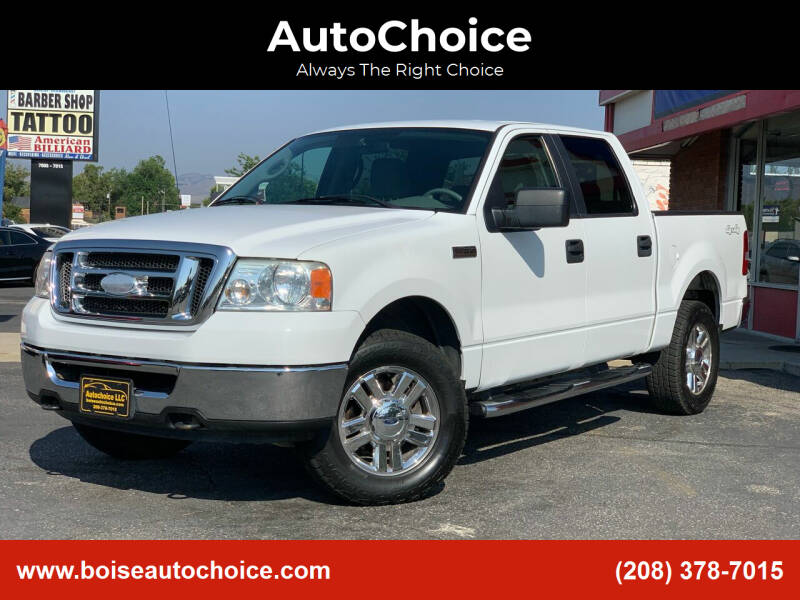 2008 Ford F-150 for sale at AutoChoice in Boise ID