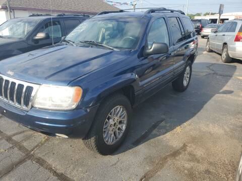 2003 Jeep Grand Cherokee for sale at All State Auto Sales, INC in Kentwood MI