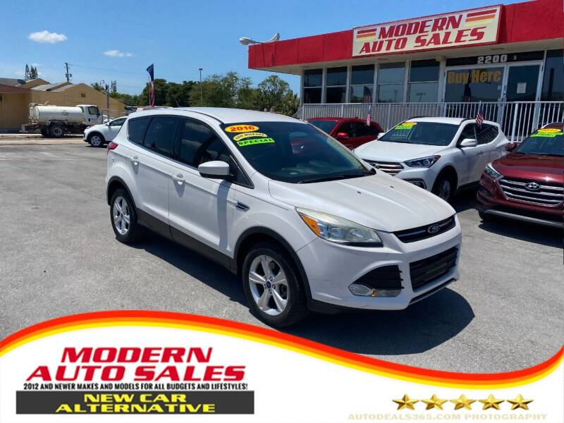 2016 Ford Escape for sale at Modern Auto Sales in Hollywood FL