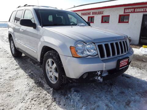 2010 Jeep Grand Cherokee for sale at Sarpy County Motors in Springfield NE