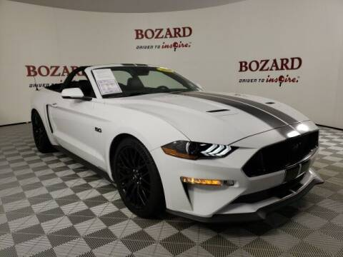 2018 Ford Mustang for sale at BOZARD FORD in Saint Augustine FL