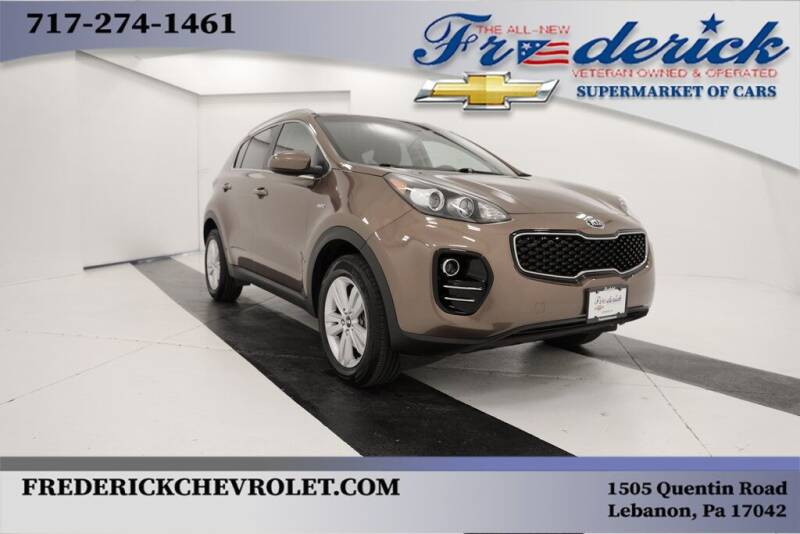 2019 Kia Sportage for sale at Lancaster Pre-Owned in Lancaster PA