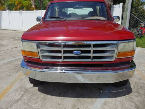 1994 Ford Bronco for sale at Autos by Tom in Largo FL