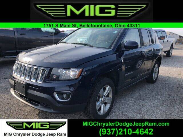 2015 Jeep Compass for sale at MIG Chrysler Dodge Jeep Ram in Bellefontaine OH