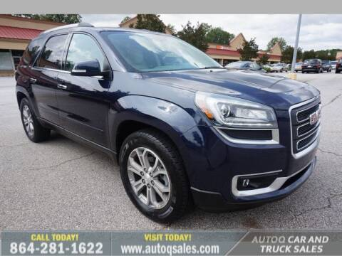 2015 GMC Acadia for sale at Auto Q Car and Truck Sales in Mauldin SC