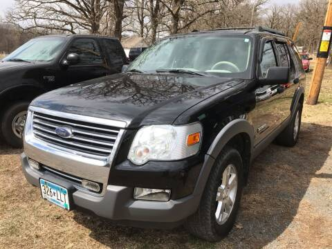 2006 Ford Explorer for sale at Riverside Auto Sales in Saint Croix Falls WI
