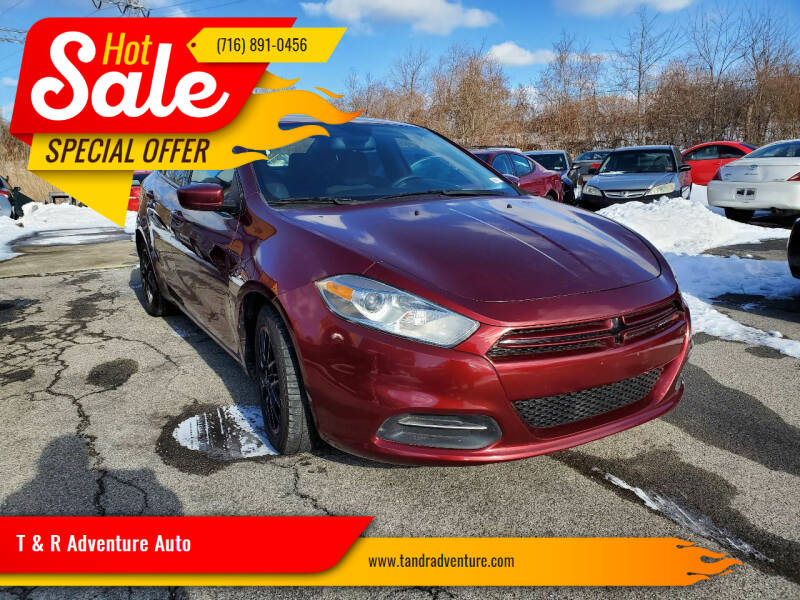 2015 Dodge Dart for sale at T & R Adventure Auto in Buffalo NY