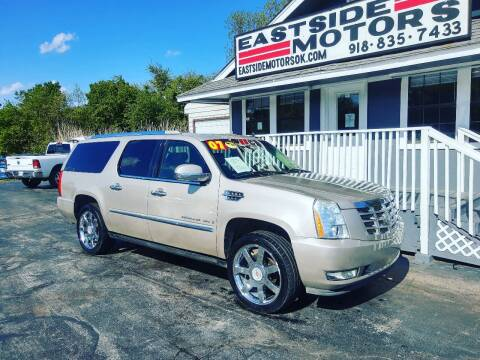 2007 Cadillac Escalade ESV for sale at EASTSIDE MOTORS in Tulsa OK