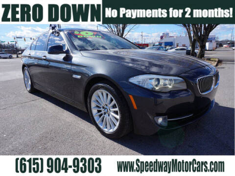 2012 BMW 5 Series for sale at Speedway Motors in Murfreesboro TN