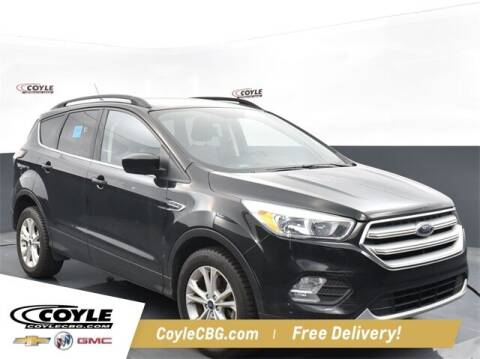 2018 Ford Escape for sale at COYLE GM - COYLE NISSAN - New Inventory in Clarksville IN