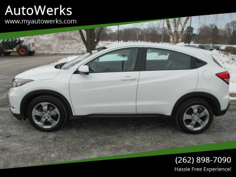 2018 Honda HR-V for sale at AutoWerks in Sturtevant WI