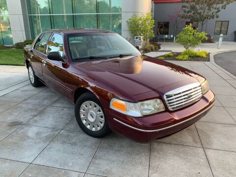 2005 Ford Crown Victoria for sale at Top Motors in San Jose CA