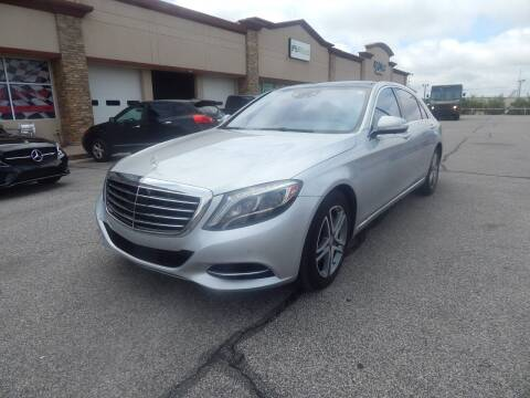 2016 Mercedes-Benz S-Class for sale at Iconic Motors of Oklahoma City, LLC in Oklahoma City OK