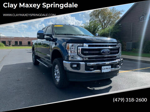 2020 Ford F-250 Super Duty for sale at Clay Maxey Springdale in Springdale AR