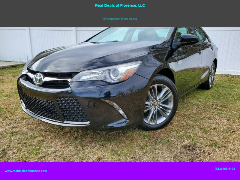 2017 Toyota Camry for sale at Real Deals of Florence, LLC in Effingham SC