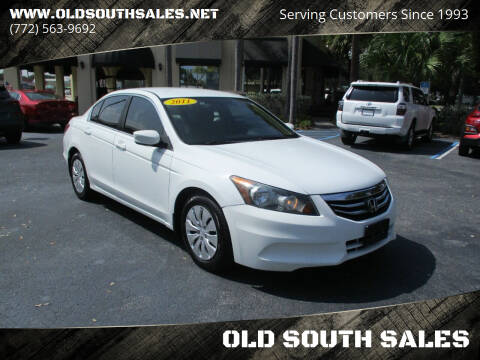 2011 Honda Accord for sale at OLD SOUTH SALES in Vero Beach FL