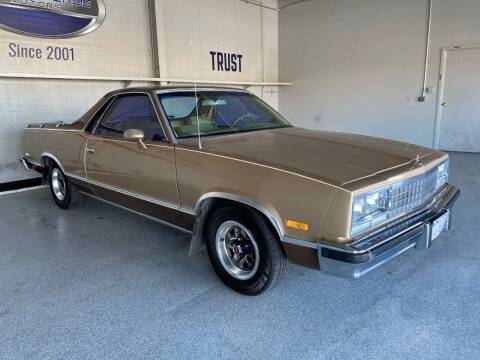 1984 Chevrolet El Camino for sale at TANQUE VERDE MOTORS in Tucson AZ