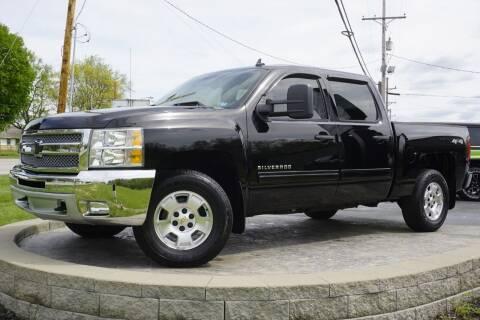 2013 Chevrolet Silverado 1500 for sale at Platinum Motors LLC in Heath OH