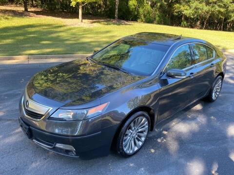 2012 Acura TL for sale at Top Notch Luxury Motors in Decatur GA