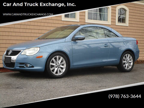 2009 Volkswagen Eos for sale at Car and Truck Exchange, Inc. in Rowley MA