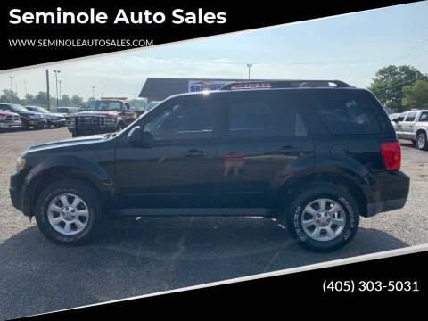2009 Mazda Tribute for sale at Seminole Auto Sales in Seminole OK