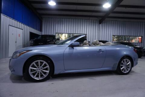 2012 Infiniti G37 Convertible for sale at SOUTHWEST AUTO CENTER INC in Houston TX
