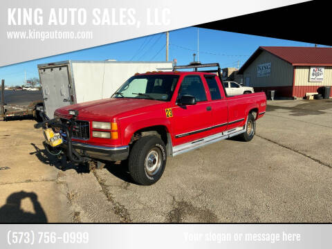 1996 GMC Sierra 2500 for sale at KING AUTO SALES, LLC in Farmington MO