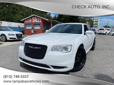 2015 Chrysler 300 for sale at CHECK  AUTO INC. in Tampa FL